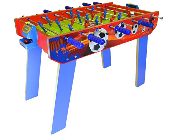 Picture of Matrax Wooden Table Football Game, 45.5 x 85.5 cm, 2 Player Game, Foosball, Raw Material Suitable For Children Health