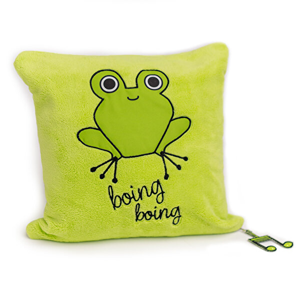 Picture of Milk&Moo Cacha Frog Baby Pillow