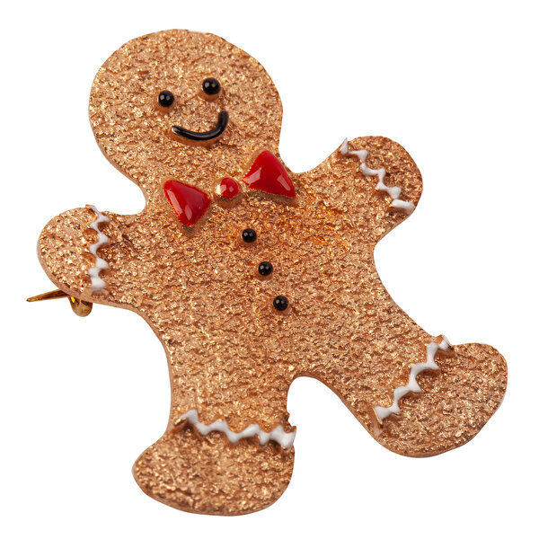 Picture of Milk&Moo Gingerbread Man Brooch