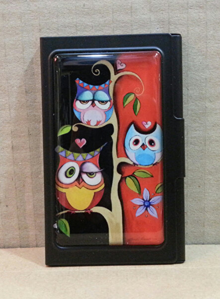 Изображение Monatitti Three Owls Card Case