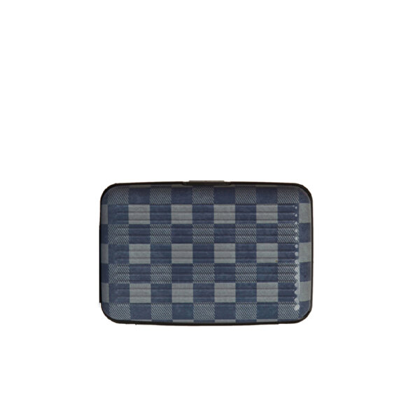 Picture of Nektar Bhac15 Business Black Checkered Card Holder