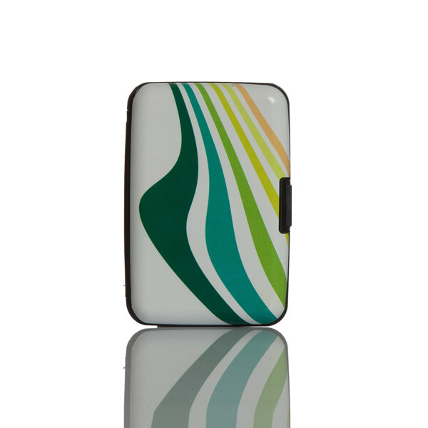 Picture of Nektar Bhac21 Pattern Green Business Card Holder