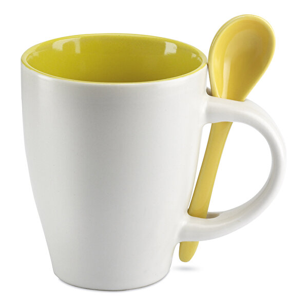 Picture of Nektar Ceramic Mug with Spoon