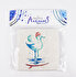 Picture of BiggDesign AnemoSS Sailor Seagull Natural Stone Coaster