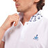 Picture of Biggdesign Anemoss Anchor Pattern Men's Polo Collar T-Shirt S