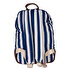 Picture of BiggDesign AnemosS Navy Striped Backpack