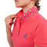 Picture of Biggdesign Anemoss Seagull Pattern Women's Polo Collar T-Shirt