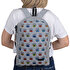 Picture of Biggdesign Eyes On You Zippered Felt Backpack