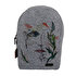 Picture of Biggdesign Faces Zippered Felt Backpack