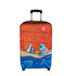 Picture of BiggDesign Mr.Allright Man Luggage Case, Protective Suitcase Cover 24""