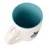 Picture of Biggdesign Nature Blue Ceramic Cup With Spoon