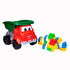 Picture of Dede Toy Truck with Pieces of Blocks