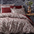 Picture of Ecocotton Akus Bordeaux Ecolarge Duvet Cover Set, Organic 100% Turkish Cotton Yarn, 240*220 Cm