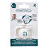 Picture of MAMAJOO 2 x ORTHODONTIC SILICONE Teat 0+ months (WHITE / OWL)