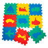 Picture of Matrax Polimat Puzzle | 33x33cm.X 9 Mm. | vehicles