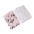 Picture of Milk and Moo Set of 2 Chancin Baby Muslin Swaddles
