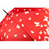 Picture of Biggbrella Butterfly Patterned Umbrella Red