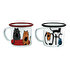 Picture of Biggdesign Cats Enamel Mugs Set Pack of 2
