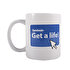 Picture of  Biggmug Get A Life Ceramic Mug