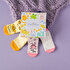 Picture of Milk&Moo Buzzy Bee and Canchin Rabbit 4 In 1 Baby Socks 0-12 Months