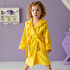 Picture of Milk&Moo Buzzy Bee Velvet Hooded Bathrobe