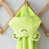 Picture of Milk & Moo Cacha Frog Velvet Hooded Baby Towel