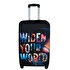 Picture of TK Collection Widen Your World  Luggage Cover